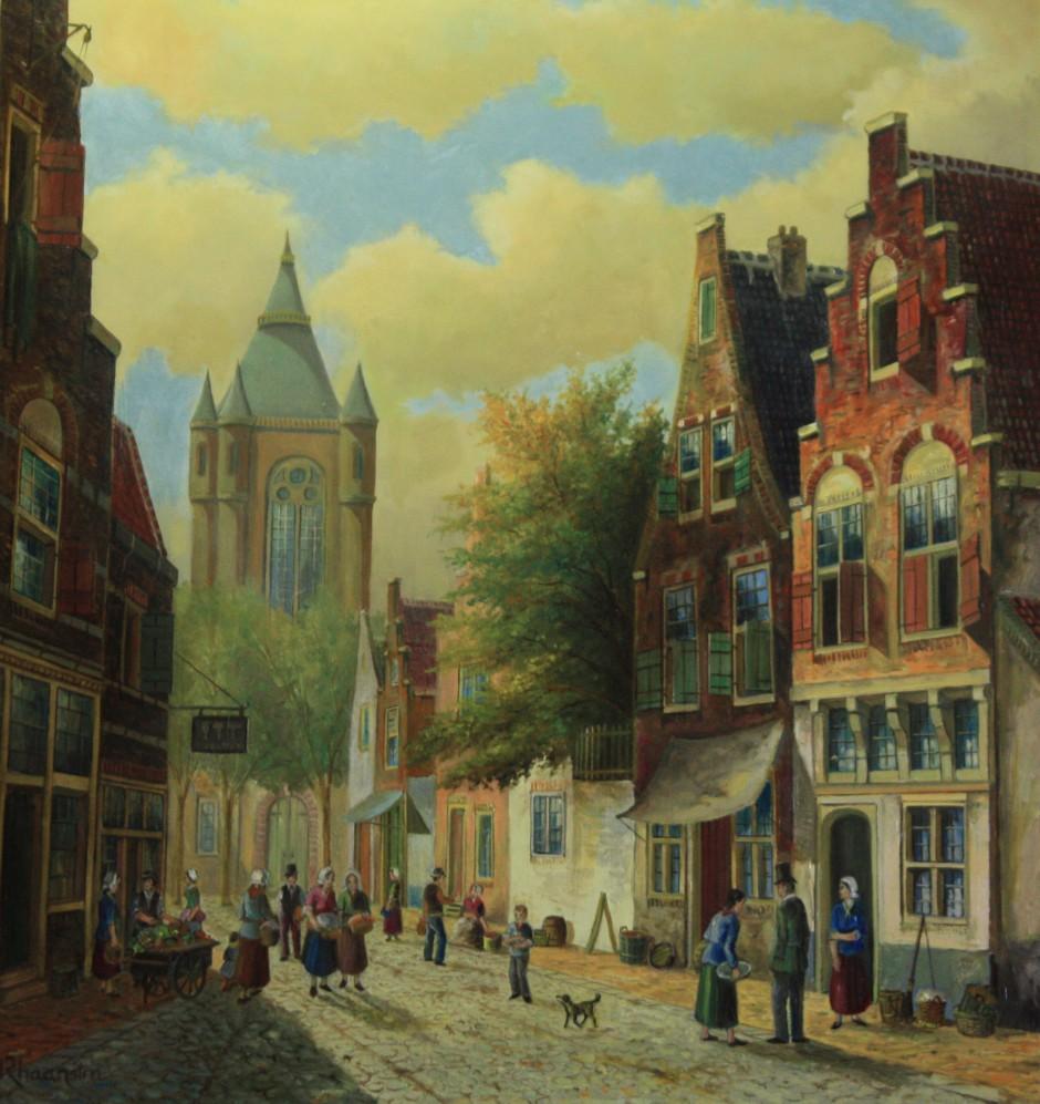 Stadsgezicht Nederland