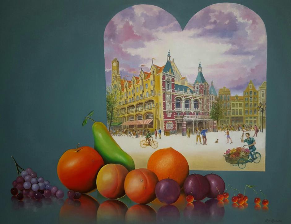 Schilderij_Amsterdam